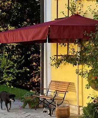 Halbe Sonnenschirme für Balkon 2017