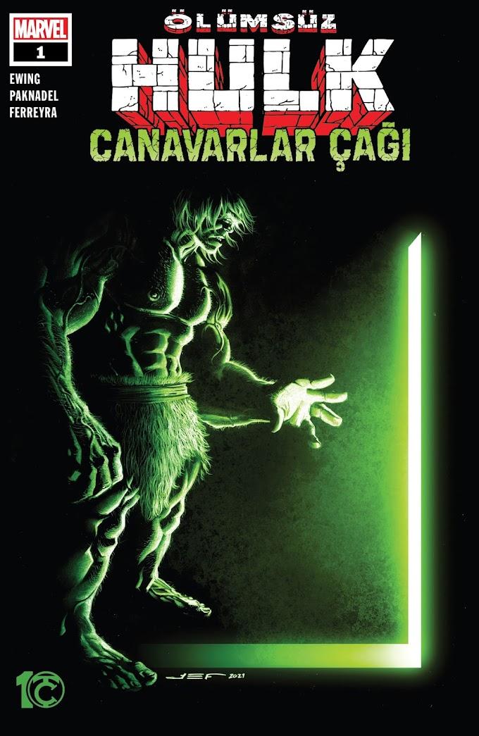 Ölümsüz Hulk: Canavarlar Çağı [Tek Sayı]