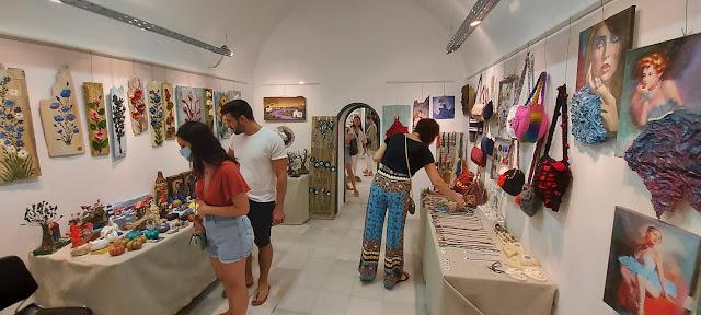 Εγκαινιάσθηκε η έκθεση χειροποίητων δημιουργιών ART FACTORY στο Ναύπλιο