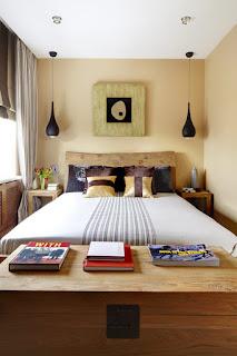 bentuk kamar tidur kecil