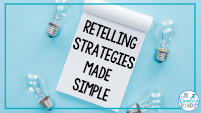 FInd out how to support your students to find which retelling strategy works best for them: Stop, Think Paraphrase, Stop & Jot, or Stop & Sketch.