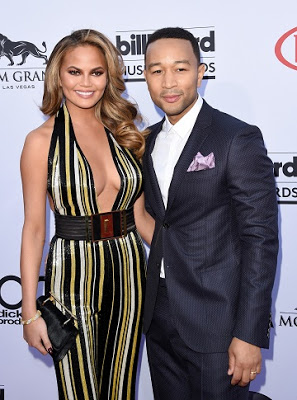 Chrissy Teigen clapsback at fan who insulted her husband, John Legend