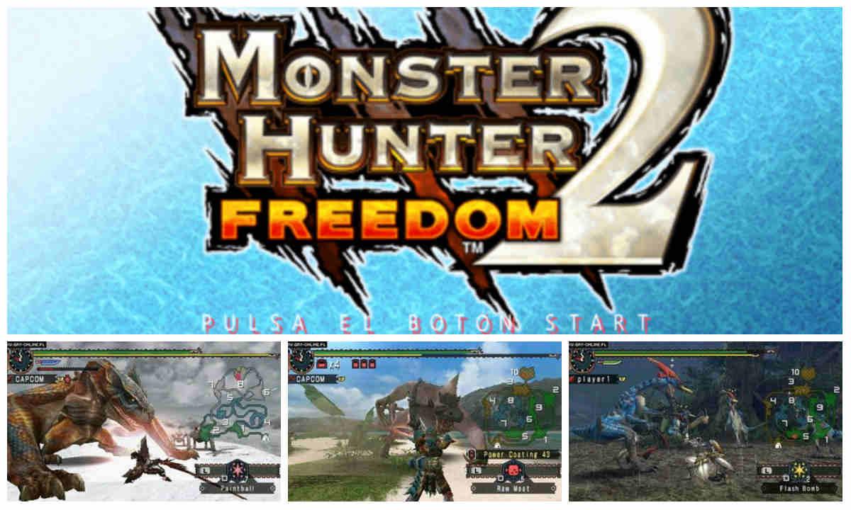 Monster Hunter Freedom 2 PSP Español