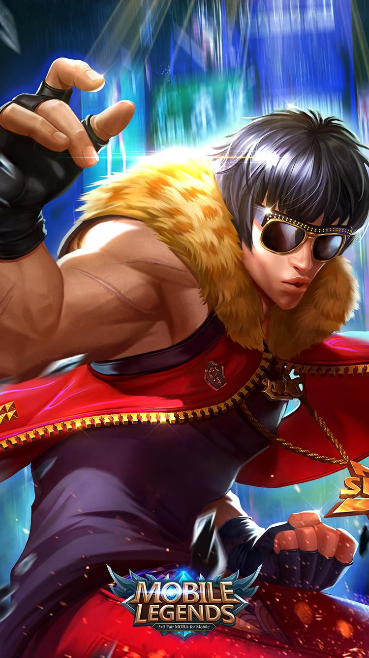 Wallpaper Chou Hip-hop Boy Skin Mobile Legends Full HD for Android and iOS