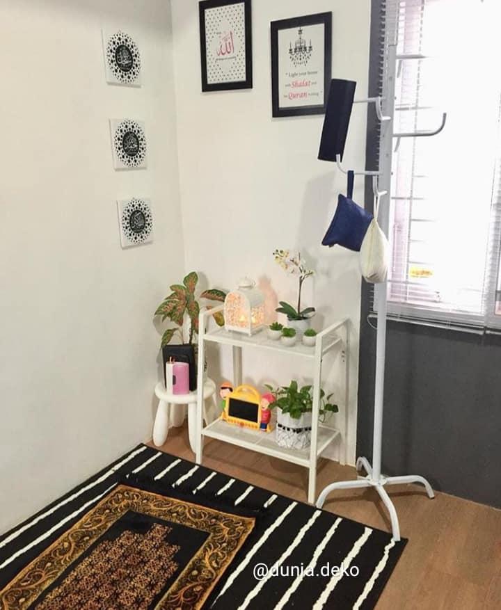 Deko Ruang Solat Di Rumah Mama Maszull