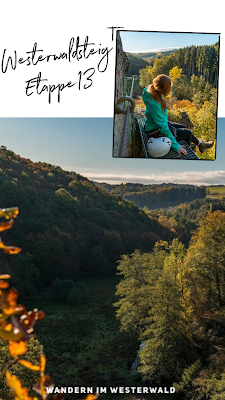 WesterwaldSteig 13. Etappe Flammersfeld – Horhausen  Klettersteig Hölderstein 20