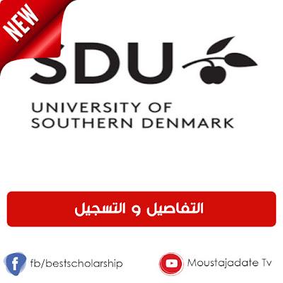جديد !! منحة ممولة بالكامل لدراسة الدكتوراه في جامعة جنوب الدنمارك | قدم الان