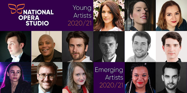 The National Opera Studio (NOS) has announced its cohort of Young Artists for 2020/2021.