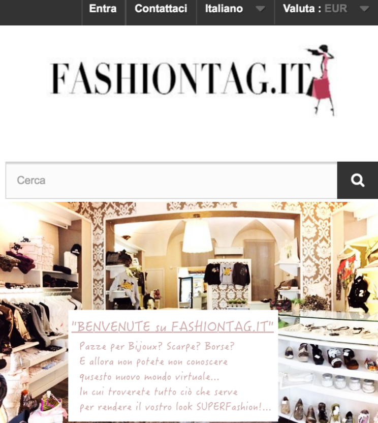 FASHIONTAG.IT l'e-shop del Mio Negozietto!...