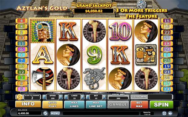 Main Gratis Slot Indonesia - Aztlan Gold Habanero