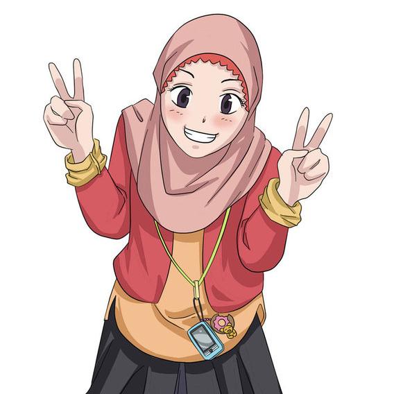 Muslimah Kartun Lucu Gambar Kartun Muslim Foto Kartun Muslimah Gambar