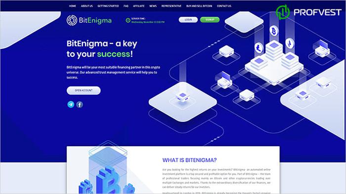 Запуск баунти от BitEnigma