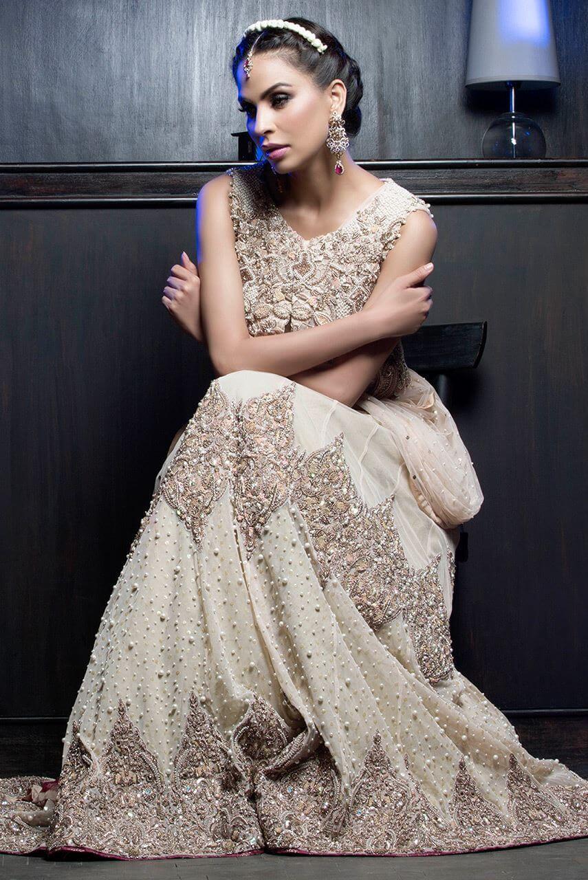 Ayesha Ibrahim Bride Sister Wedding Dress