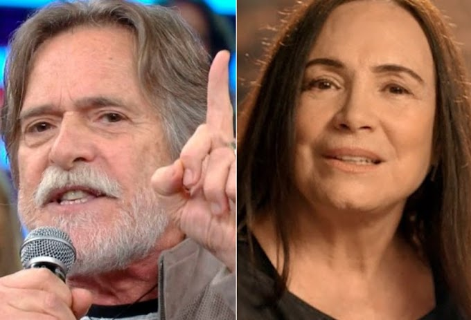 Zé de Abreu ameaça Regina Duarte diz que vagina não transforma mulher em humano