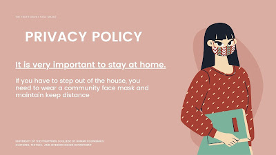 Privacy policy. Stay Safe At Home