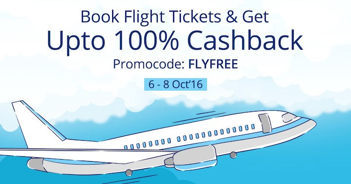 Flight discount coupons paytm