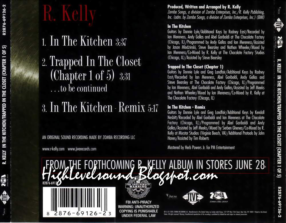 Highest Level Of Music: R. Kelly