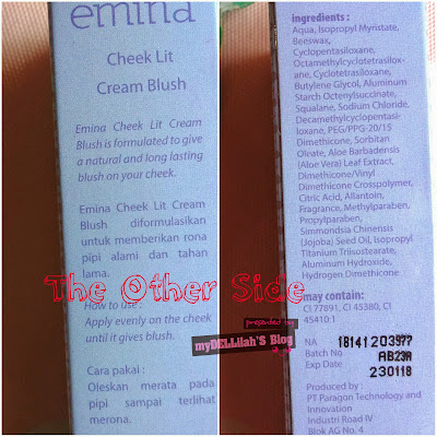Emina Cheecklit Cream Blush