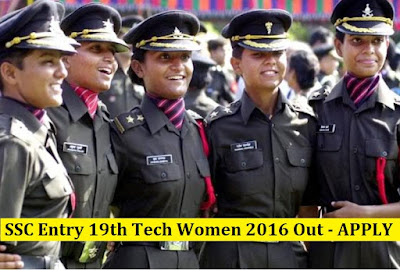 SSC Entry 19th Tech Women 2016