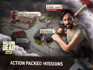 The Walking Dead No Man's Land Unlimited Gold Apk Mod Offline No Survey