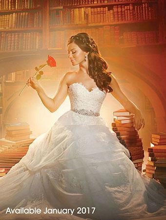 la bella y la bestia de disney - blog: nuevo vestido de boda de