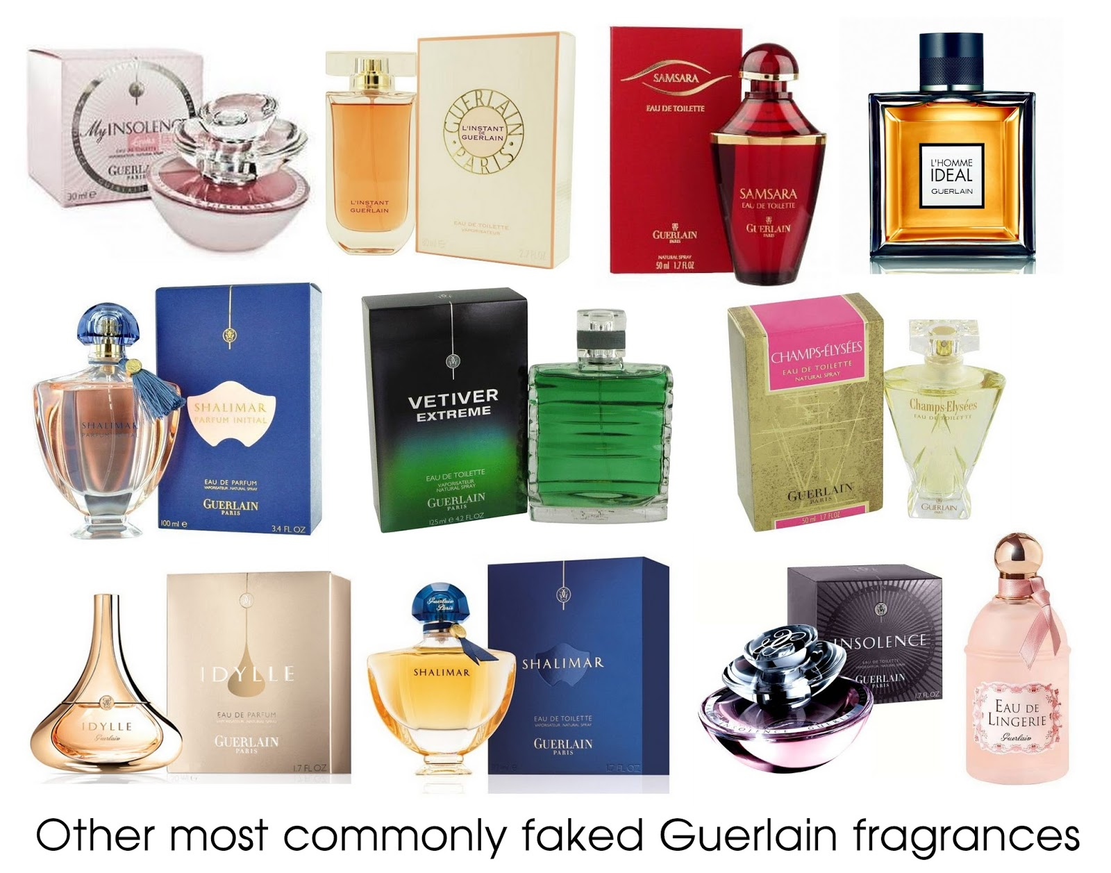 Guerlain Perfumes Beware Counterfeit Fragrances Shalimar Eau De Parfum 90ml These Are Images Taken From Different Fake Perfume Suppliers Websites