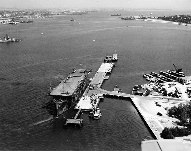 USS Long Island, 2 June 1942 worldwartwo.filminspector.com