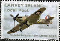 Canvey Local Post Battle of Britain Stamp