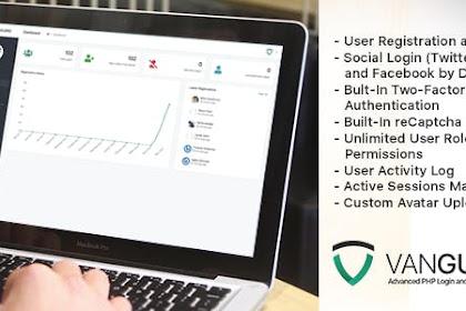 Download Vanguard v4.0.0 - Advanced PHP Login and User Management