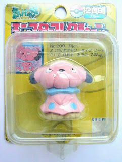 Snubbull figure Tomy Monster Collection yellow package series