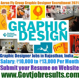 Aeron Fly Group Graphic Designer Recruitment 2021-22