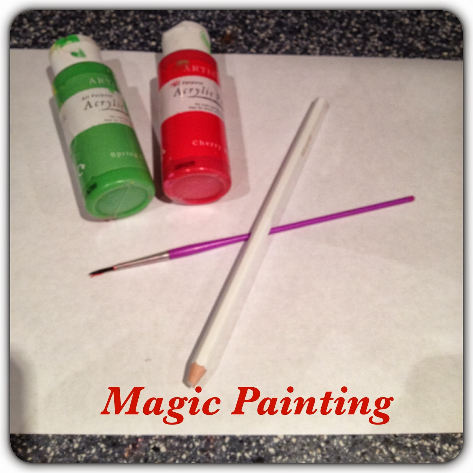 magic painting materials