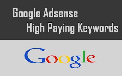 Berikut Daftar Highest Paying Google Adsense keywords Indonesia 2016