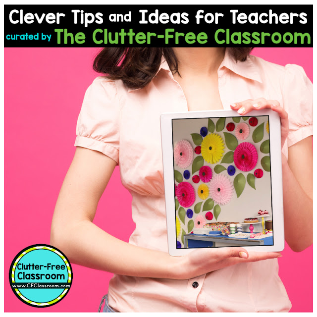 Teachers are always looking for creative decorations. This blog post from the Clutter-Free Classroom shows teachers how to add fun pops of color to their space.
