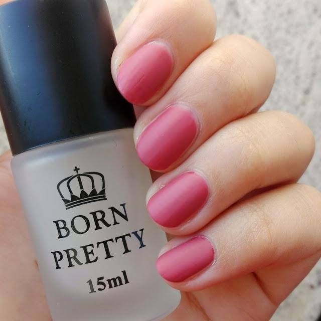 Born Pretty Store Super Matte Change Surface Glossy Oil Nail Polish