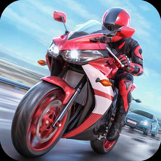 تحميل لعبة Racing Fever: Moto v1.4.0 مهكرة وكاملة للاندرويد نقود لا نهاية