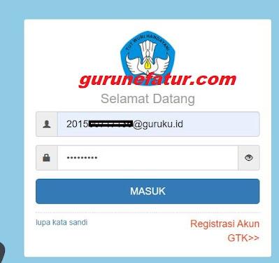 login GTK dan SIM PKB