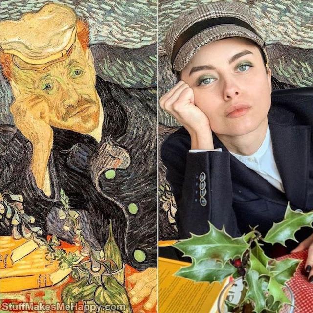 Portrait of Doctor Gachet with foxglove branch (Vincent van Gogh)