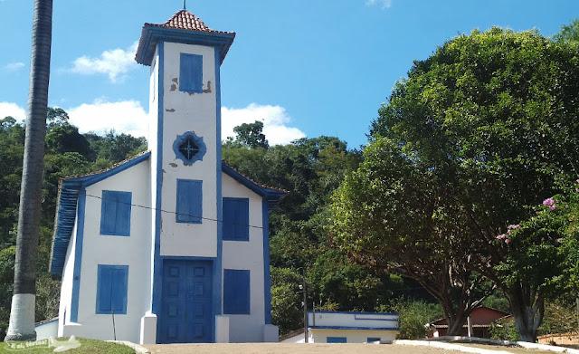 Igreja Santo Antônio, Tapera, Caminho dos Diamantes, Estrada Real