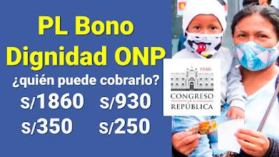 Bono Dignidad ONP: montos, cómo postular, requisitos y quién lo puede cobrarlo