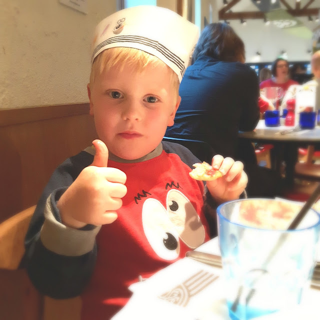 Wafflemama Pizza Express Autumn Menu Family Meal Review