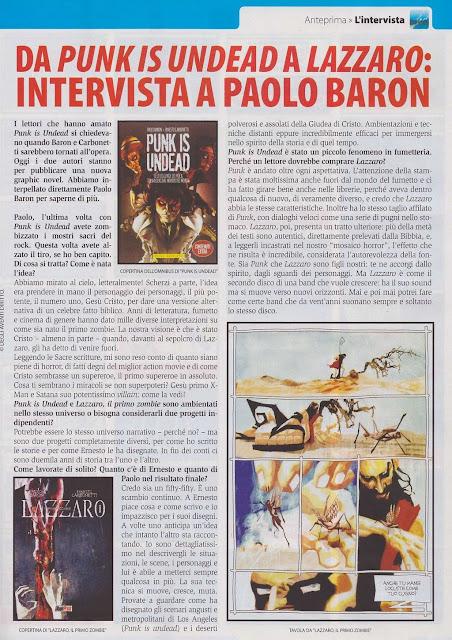 Intervista a Paolo Baron