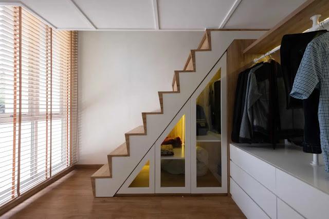 Ukuran Rumah Tiny House terasa Lapang