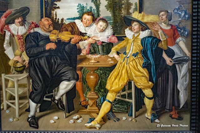 Willem Pietersz Buytewech, 'Alegre Compañía' - Gemäldegalerie, Berlin por El Guisante Verde Project