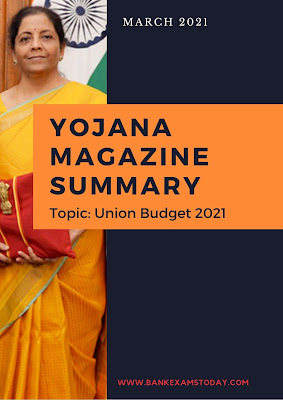 Yojana Magazine Summary: March 2021
