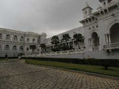Falaknuma Palace Hotel in Hyderabad