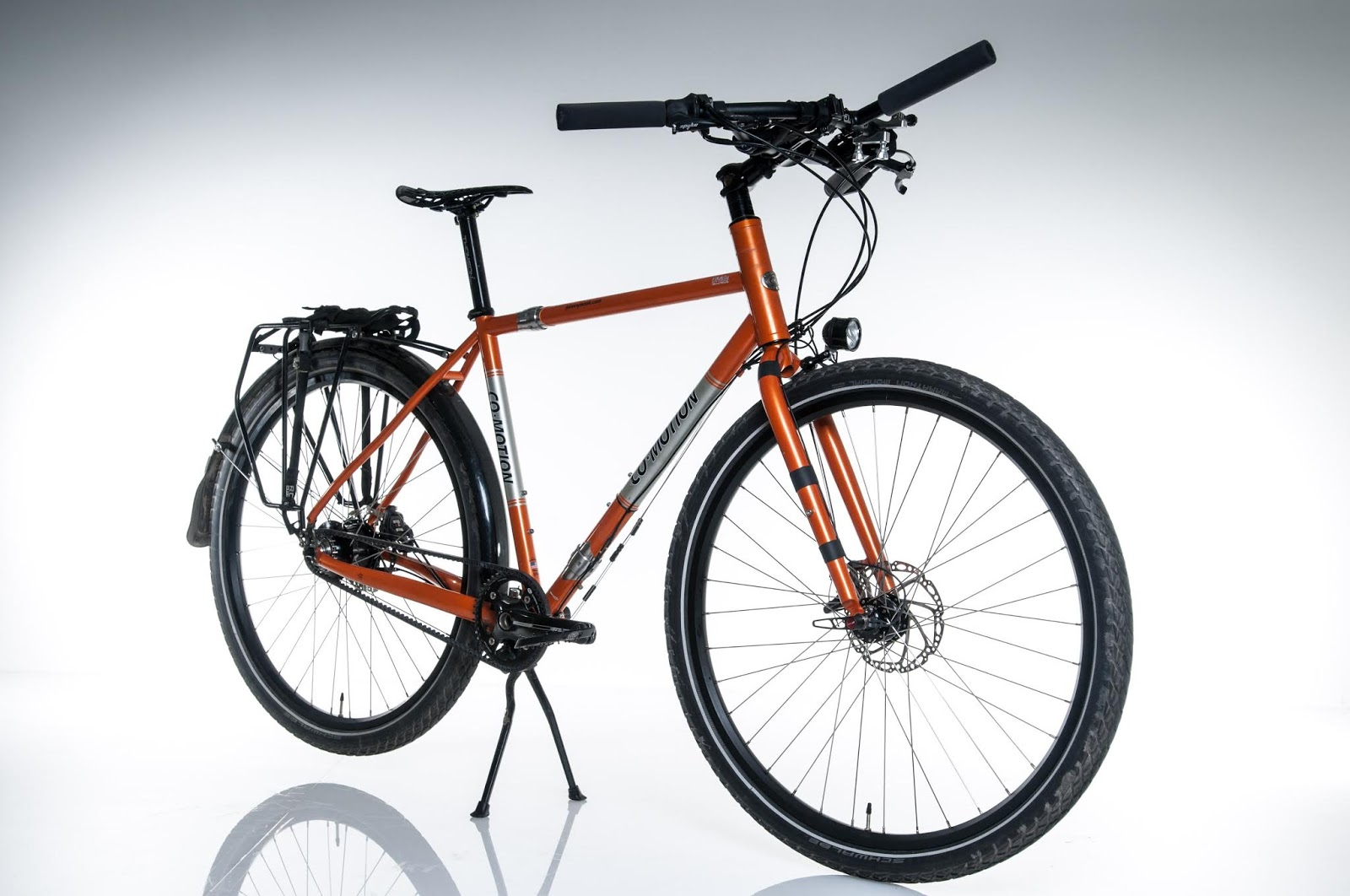 Co-Motion Divide with Rohloff SPEEDHUB 500/14 & Gates Carbon