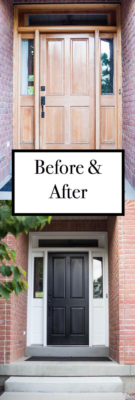 How To how to refinish front door images : do it yourself divas: DIY Refinish Front Door