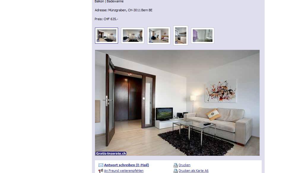 36 qm wohnung mit balkon zu. Black Bedroom Furniture Sets. Home Design Ideas