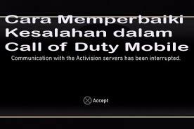 Cara Memperbaiki Kesalahan dalam Call of Duty Mobile 1